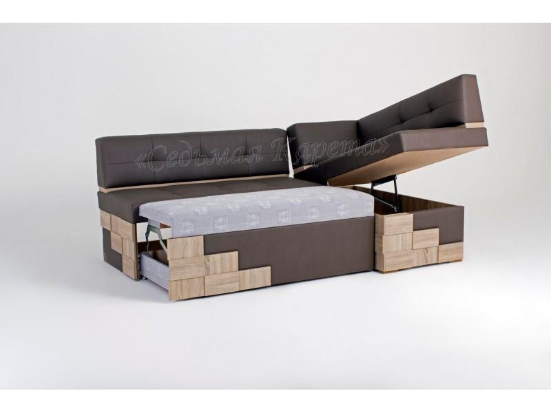 Кухонный угловой диван Редвиг