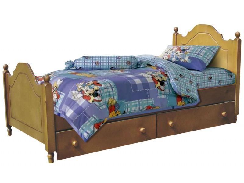 Кровать одноярусная Эльф