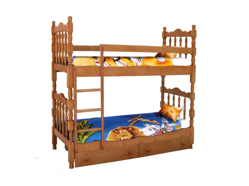 Кровать двухъярусная Шрек-2