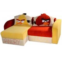 Детский диван Angry Birds