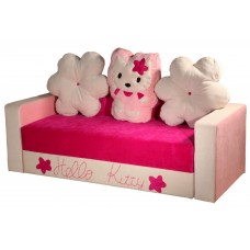 Детский диван Kitty white